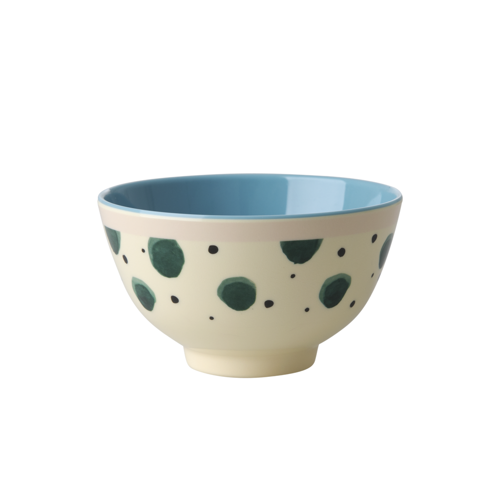 Melamine Bowl Watercolour Splash Small