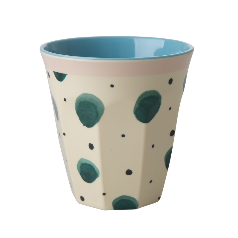 Melamine cup Watercolour Splash Print Medium