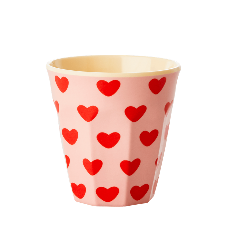 Sweet Hearts melamine cup (medium)