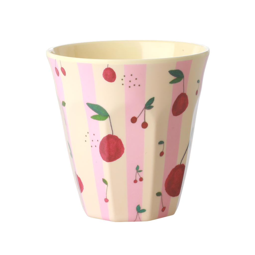 Cherry melamine cup (medium)