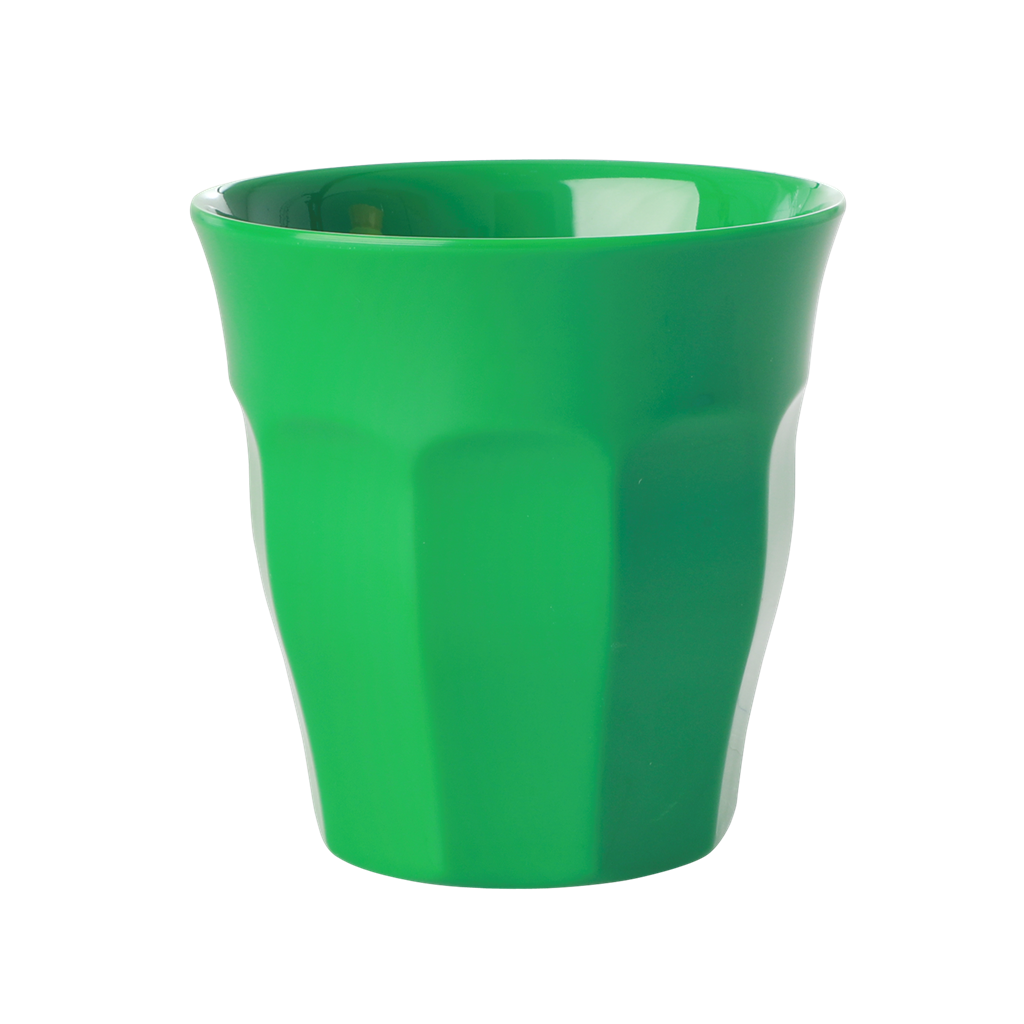 Forest green melamine cup (medium)
