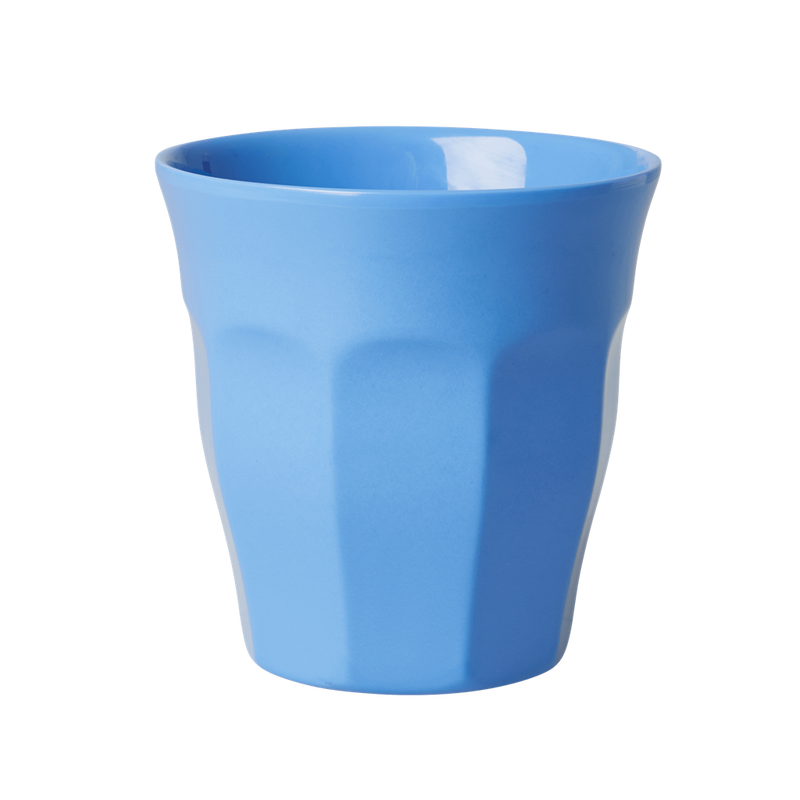 New Dusty Blue melamine cup (medium)