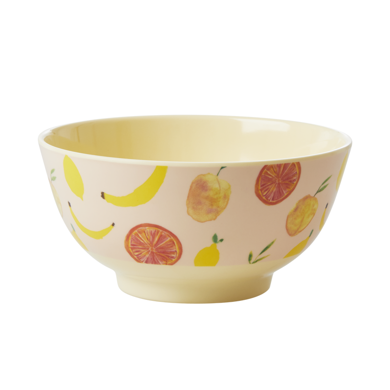 Melamine Bowl Happy Fruits