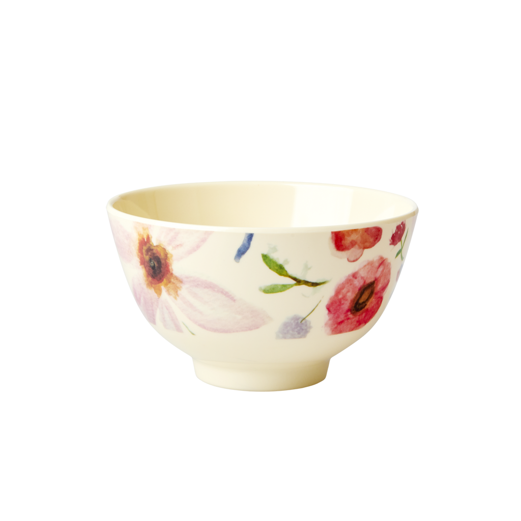 Melamine Bowl Selma's Flower Small