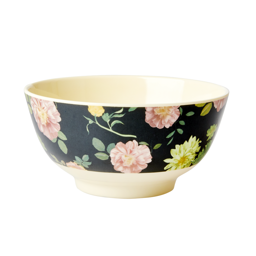 Melamine Bowl Dark Rose