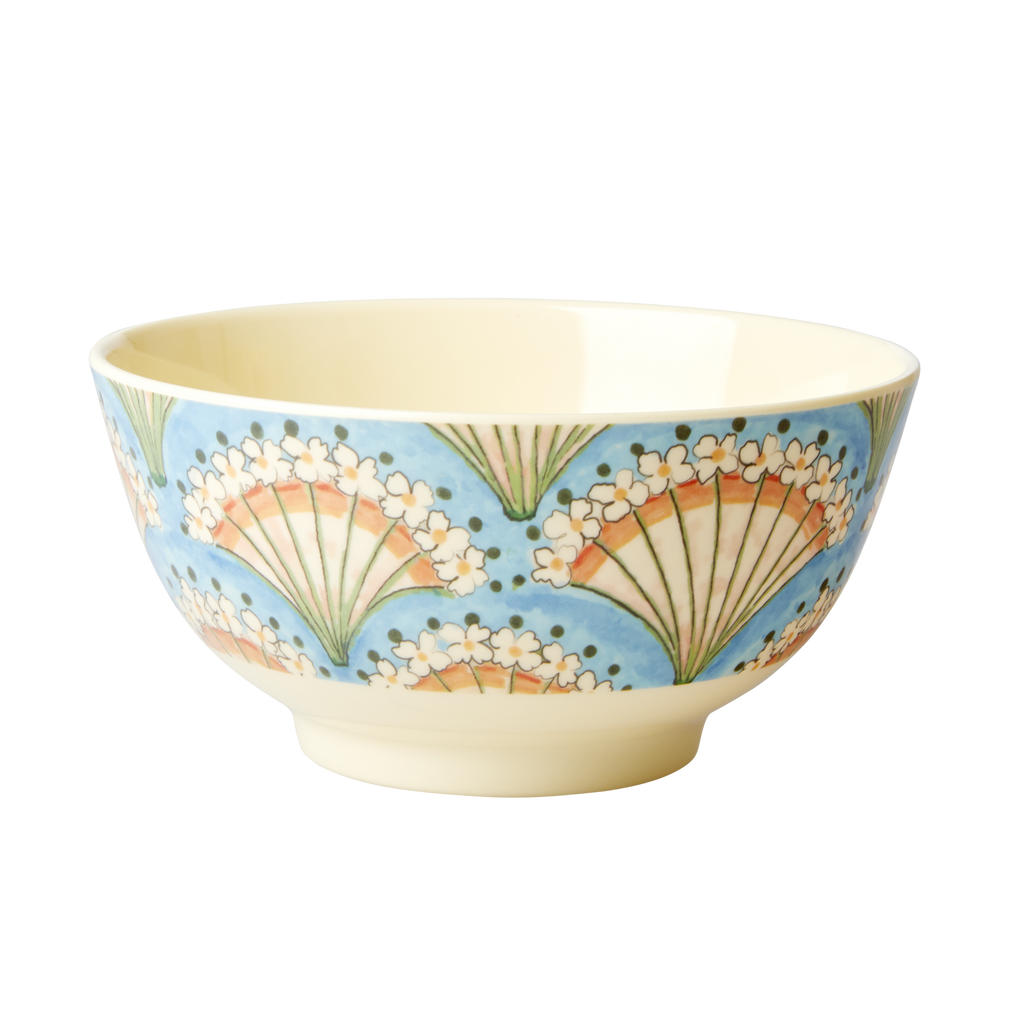 Melamine Bowl Flower Fan
