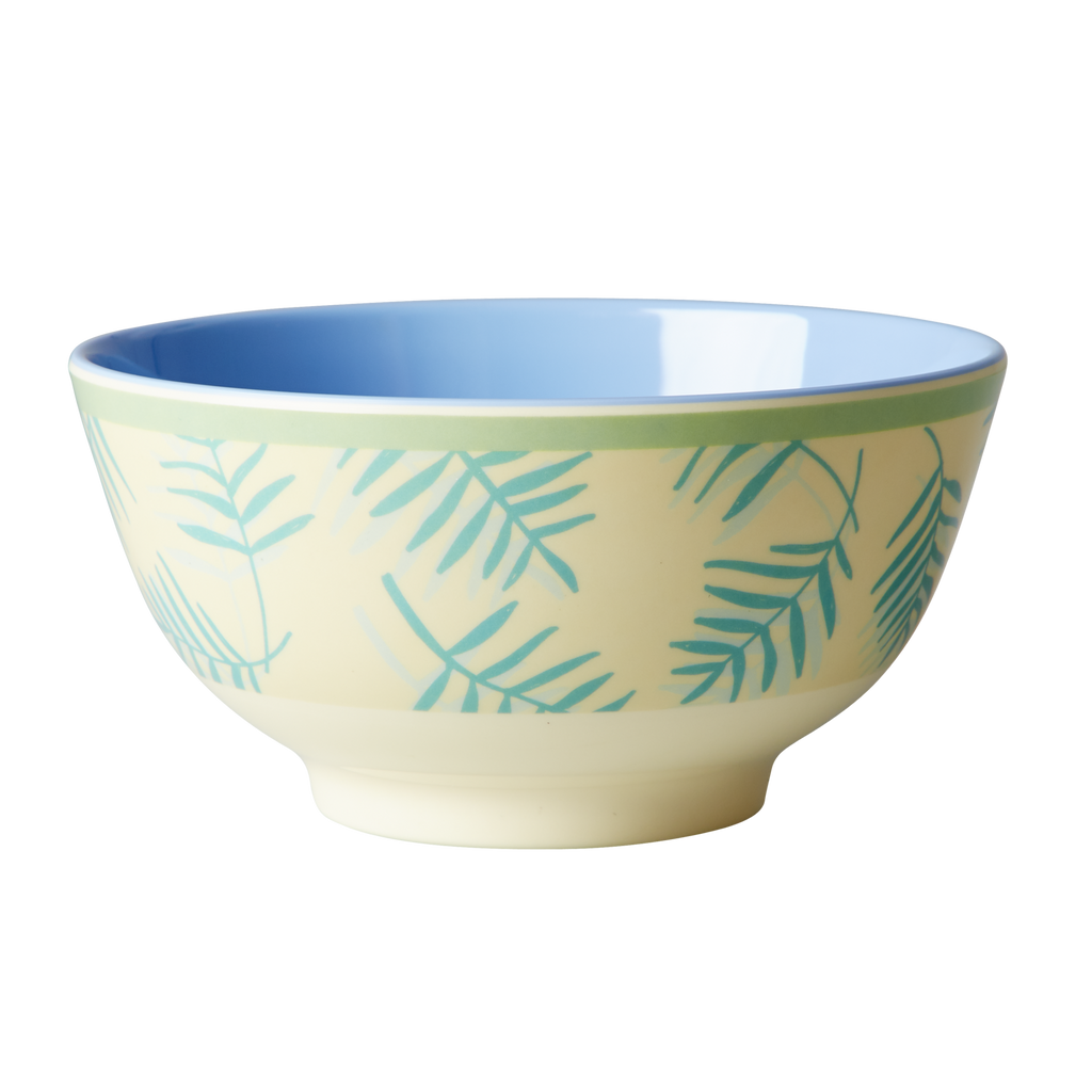 Melamine Bowl Palm Leaves
