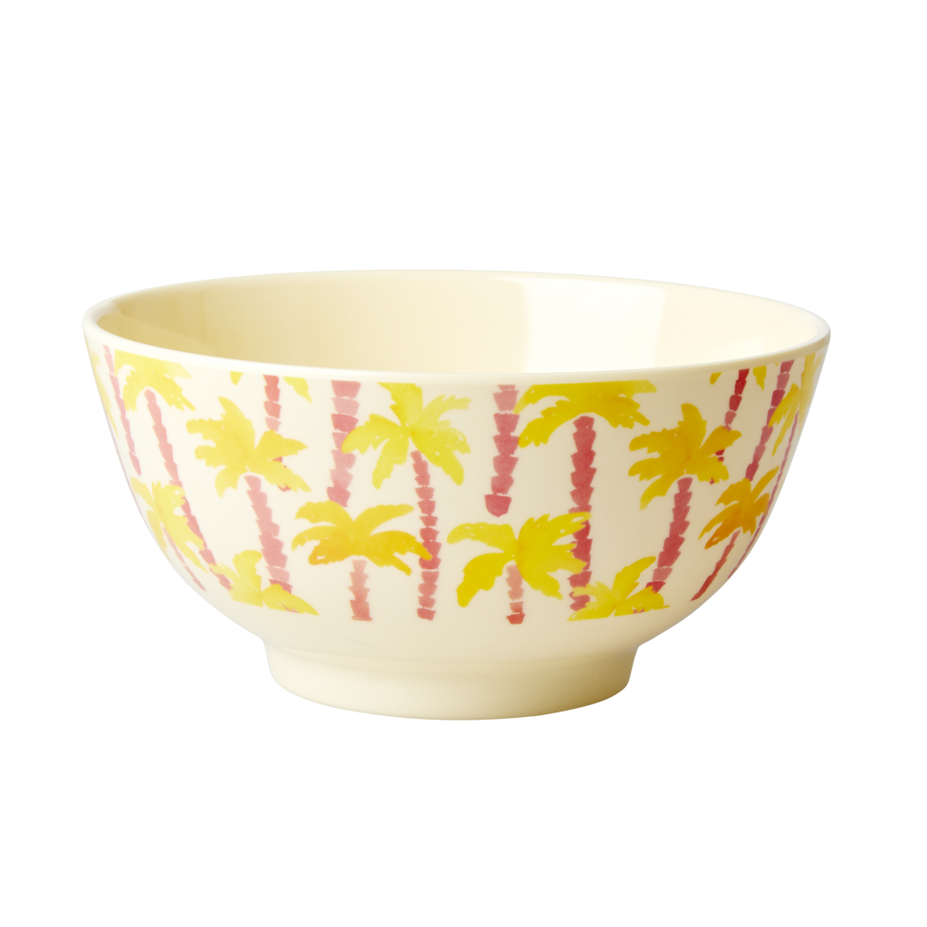 Melamine Bowl Palm Tree