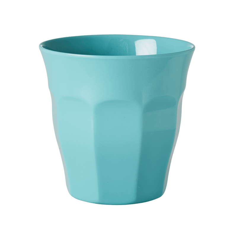 Aqua melamine cup (medium)