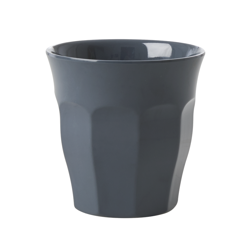 Melamine cup Dark Grey Medium