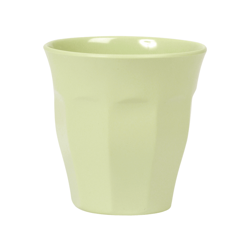 Mint melamine cup (medium)