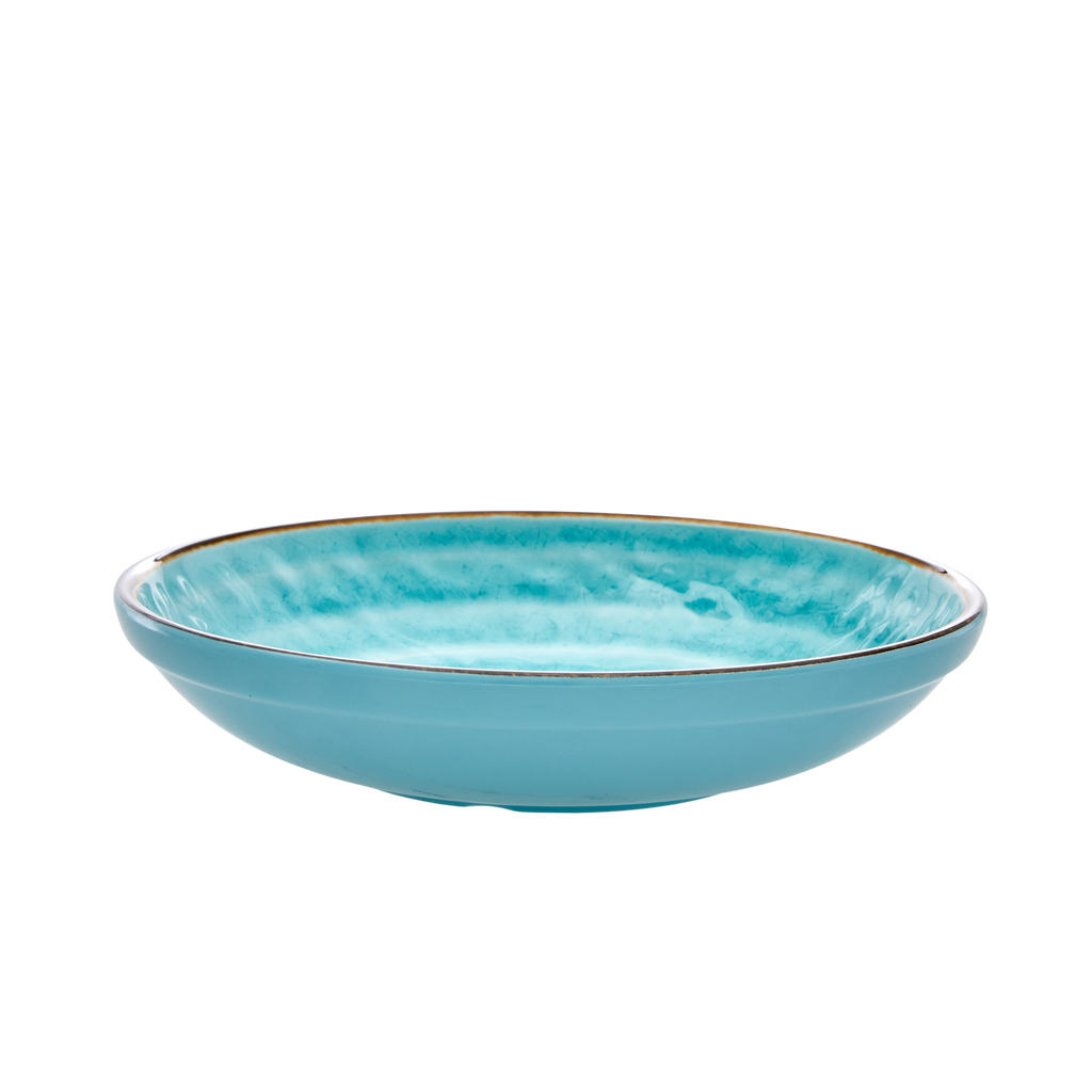 Soup and pasta bowl Swirl Aqua 2
