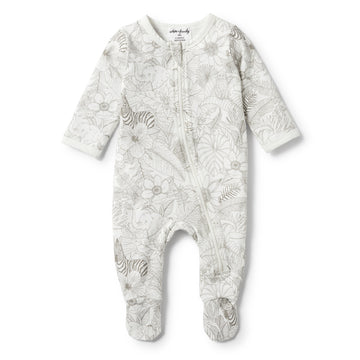 PEEKABOO LONG SLEEVE ZIPSUIT-Wilson and Frenchy