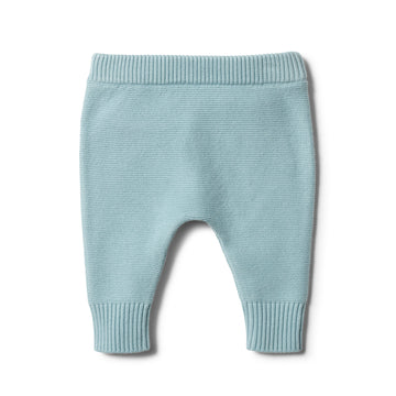 SEAFOAM KNITTED LEGGING