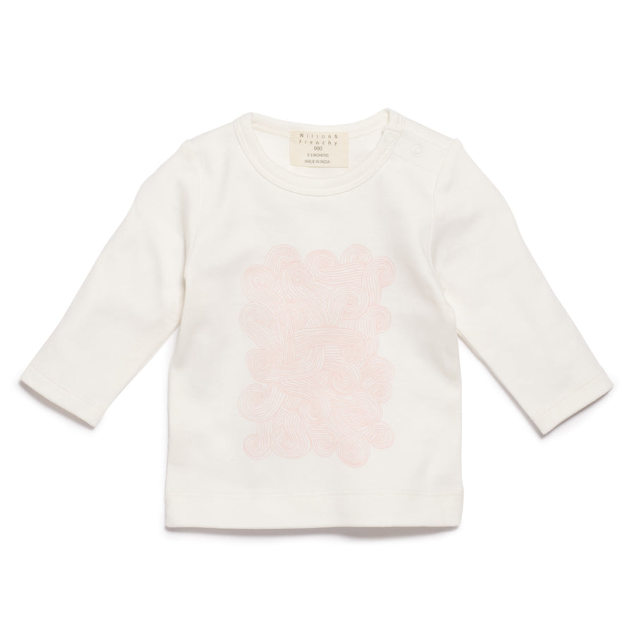 PINK STORM LONG SLEEVE TOP - Wilson and Frenchy