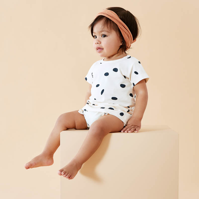 Organic Speckled Spots Tee
