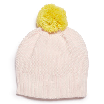 MARSHMELLOW AND PINEAPPLE KNITTED HAT-Wilson and Frenchy