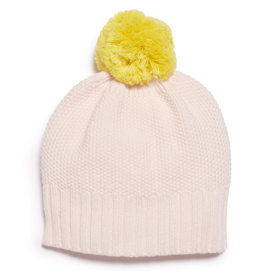 MARSHMELLOW AND PINEAPPLE KNITTED HAT - Wilson and Frenchy