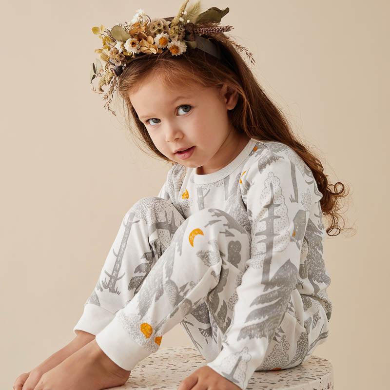 Organic Little Wander L/S Pyjama Set
