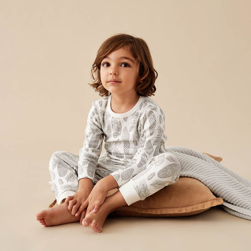 Organic Little Spruce L/S Pyjama Set