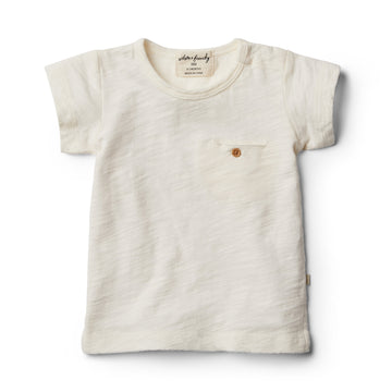 Whisper White Tee with Pocket - Wilson and Frenchy
