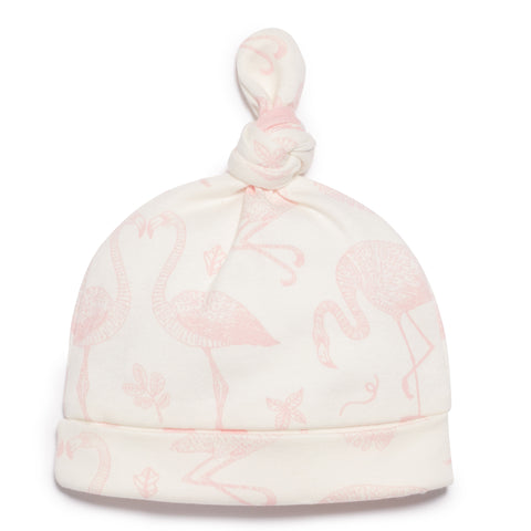 FLAMINGO KNOT HAT