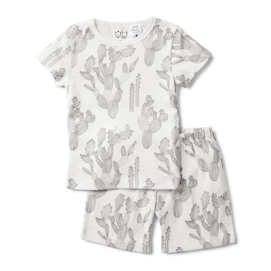 IM STUCK ON YOU SHORT SLEEVE PYJAMA SET - Wilson and Frenchy