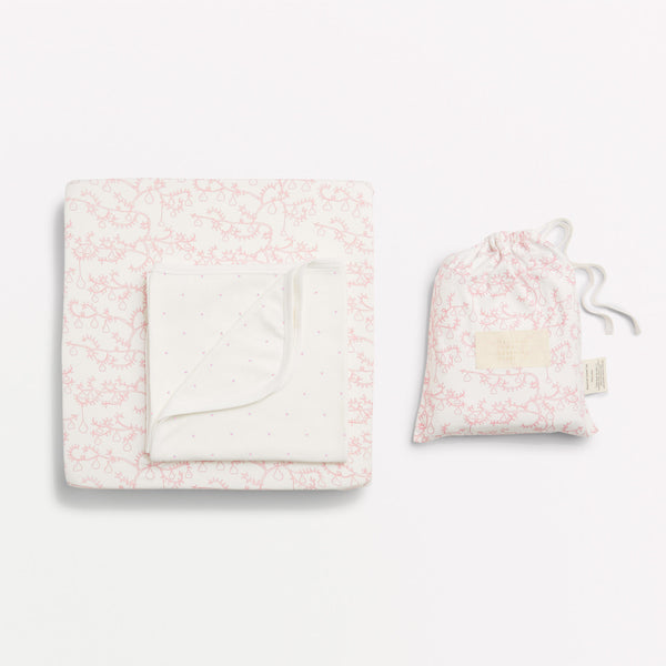 LITTLE PEAR TREE BASSINET SHEET SET - Wilson and Frenchy