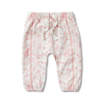 PINK ADVENTURE AWAITS SLOUCH PANT - Wilson and Frenchy
