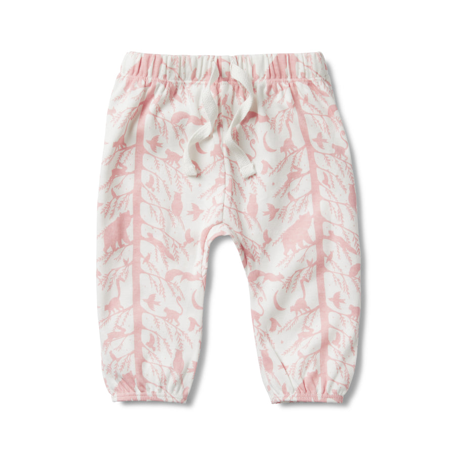 PINK ADVENTURE AWAITS SLOUCH PANT-SLOUCH PANT-Wilson and Frenchy
