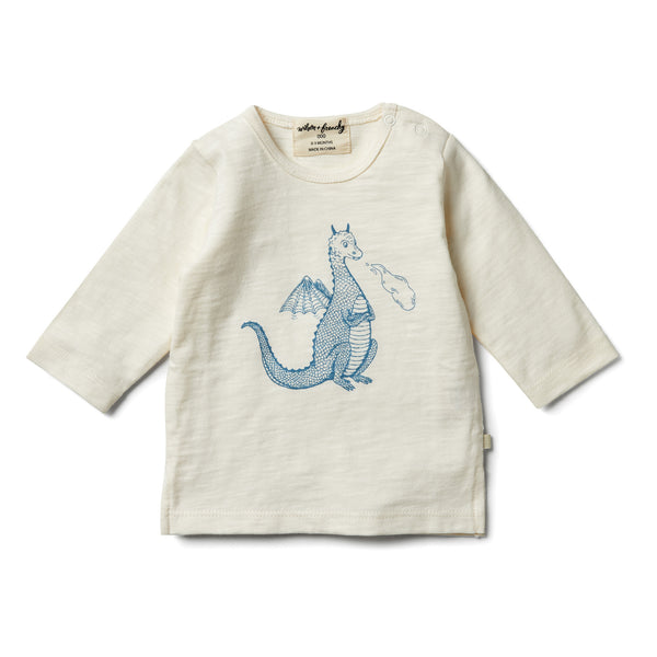 Dragon Long Sleeve Top - Wilson and Frenchy