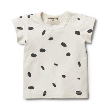 Organic Speckled Spots Tee - Wilson and Frenchy