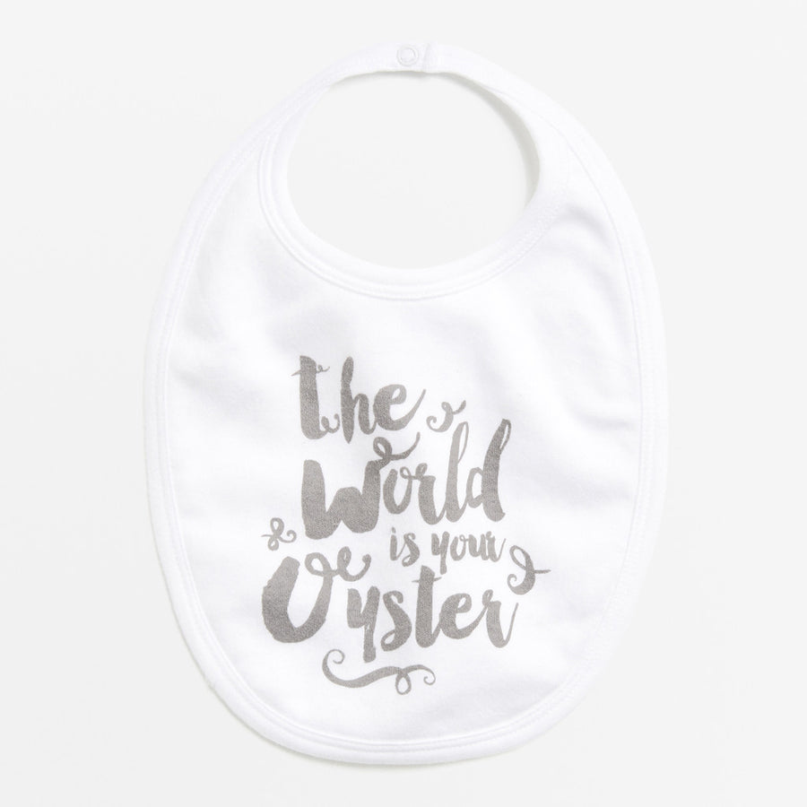THE WORLD IS YOUR OYSTER BIB-BIB-Wilson and Frenchy