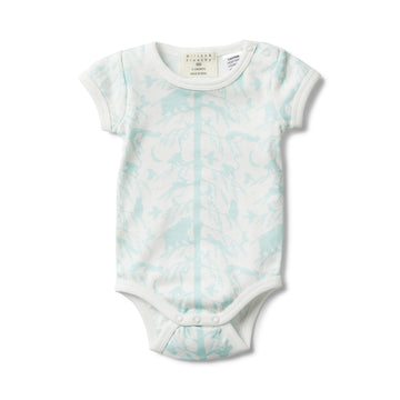 BLUE ADVENTURE AWAITS SHORT SLEEVE BODYSUIT-BODYSUIT-Wilson and Frenchy
