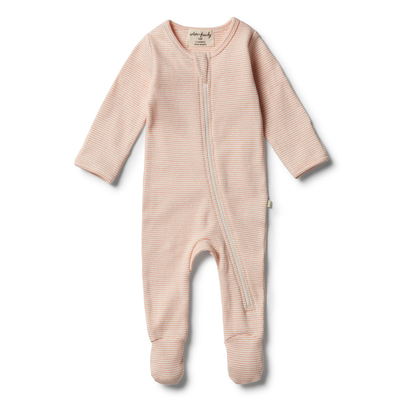 Organic Desert Flower Zipsuit - Wilson and Frenchy