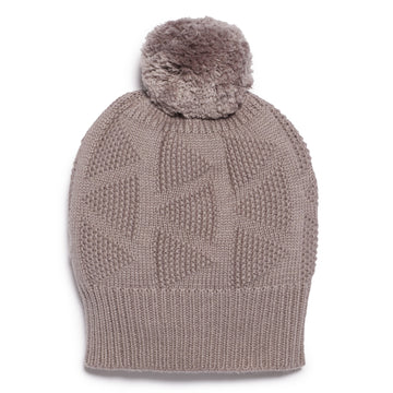 SMOKE GREY KNITTED HAT-KNITTED HAT-Wilson and Frenchy