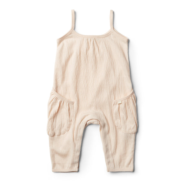 Peach Dust Singlet Jumpsuit - Wilson and Frenchy