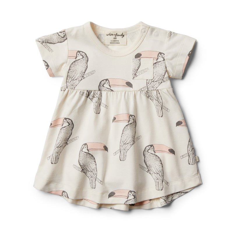 Organic Tutu Toucan Dress - Wilson and Frenchy