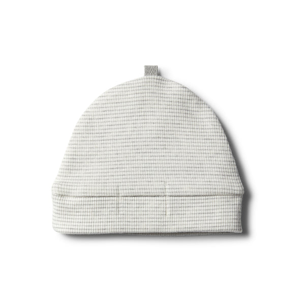 Organic Cloud Grey Beanie - Wilson and Frenchy