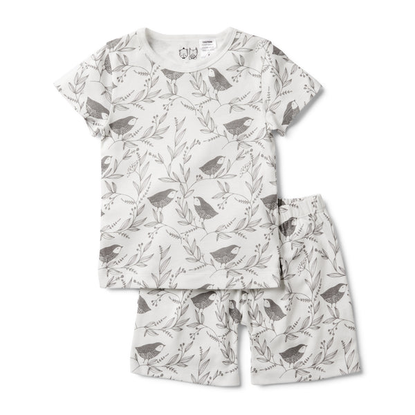 LITTLE FLOW SHORT SLEEVE PYJAMA SET