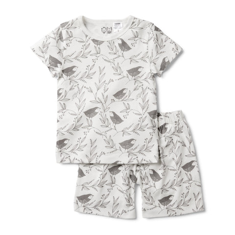 LITTLE FLOW SHORT SLEEVE PYJAMA SET - Wilson and Frenchy