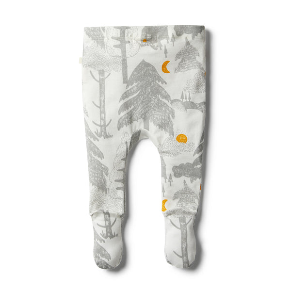 Organic Little Wander Footed Legging - Wilson and Frenchy