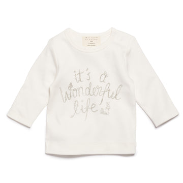 IT'S A WONDERFUL LIFE LONG SLEEVE TOP-LONG SLEEVE TOP-Wilson and Frenchy