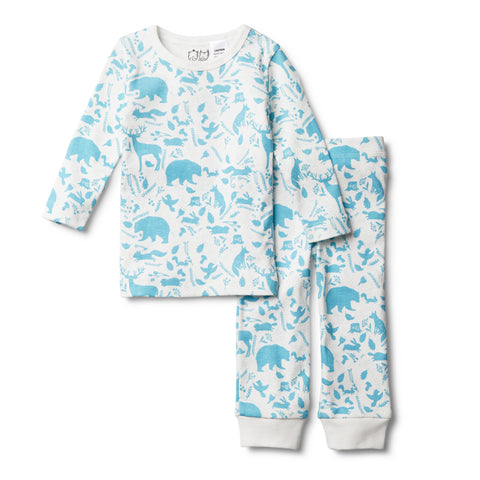 BOYS WILD WOODS PYJAMA SET - Wilson and Frenchy