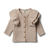 Organic Toasted Pecan Cardigan - Wilson and Frenchy