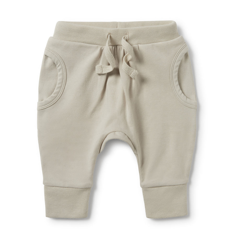 POWDER STONE POCKET SLOUCH PANT-SLOUCH PANT-Wilson and Frenchy