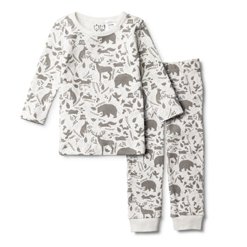 WILD WOODS PYJAMA SET-KIDS SLEEPWEAR-Wilson and Frenchy