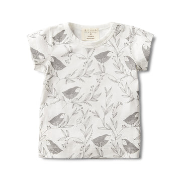 LITTLE FLOW SHORT SLEEVE TEE - Wilson and Frenchy