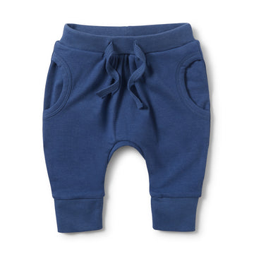 TRUE NAVY POCKET SLOUCH PANT-Wilson and Frenchy