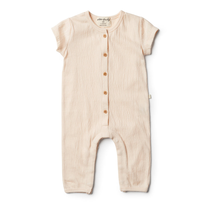 Peach Dust Growsuit - Wilson and Frenchy